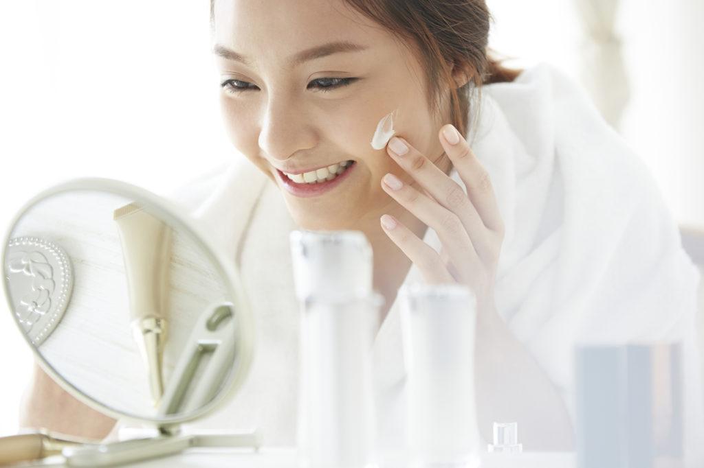 美容アイテムを使った予防・改善法